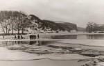 Ледоход на реке Тетерев. Фото 1961 года