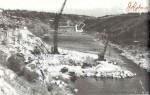 Начало строительства плотины на реке Тетерев