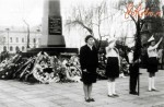Открытие монумента Славы на Замковой горе