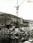 Строительство плотины на реке Тетерев