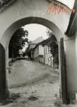 Вид на Подольскую улицу из ворот Подольской церкви