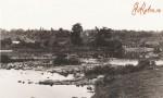Вид с правого берега реки Тетерев на Островок