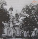 деревянный храм Богоявленского монастыря