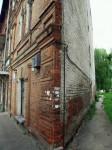 Здание с оптической иллюзией на улице Театральной в Житомире