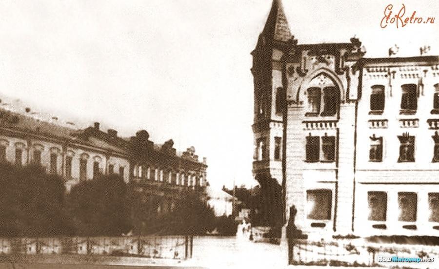 Пересечение улиц Бульварной и Б.Бердичевской